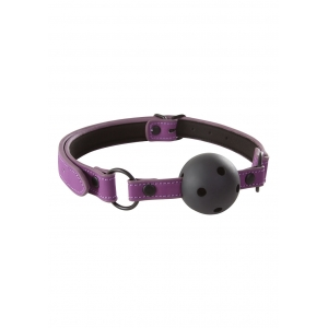 Lust - Bondage Ball Gag Purple SM