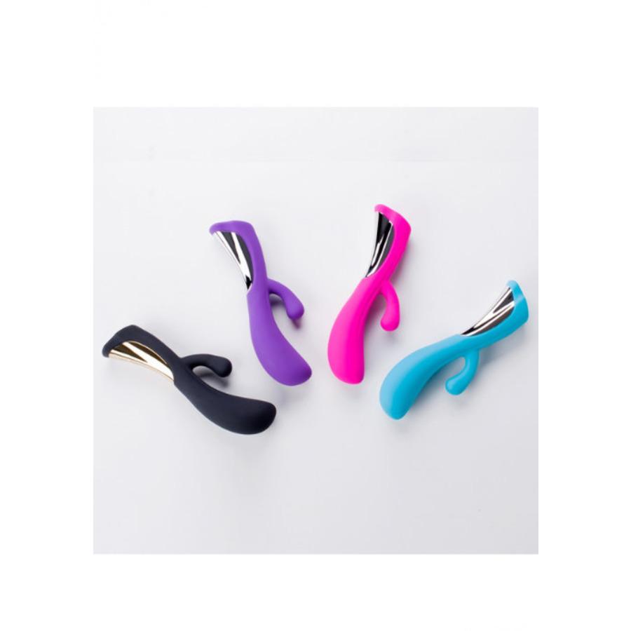 Dorr - Iora Dual Action USB-Oplaadbare Rabbit Vibrator Vrouwen Speeltjes