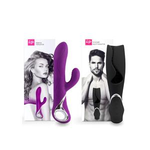 Loverspremium - Venus & Vulcan Paars & Zwart Accessoires