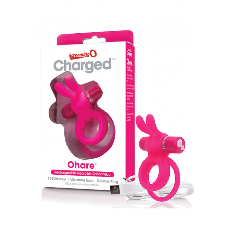 Screaming O - Charge Ohare Rabbit Vibe Mannen Speeltjes