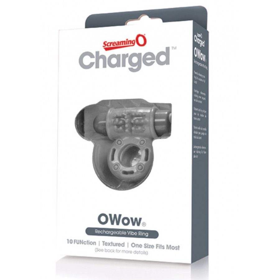 Screaming O - Charge OWow Vibe Ring  Mannen Speeltjes