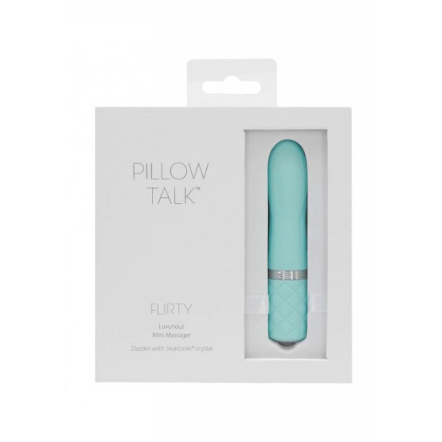Pillow Talk - Flirty USB-Oplaadbare Mini Massager Vrouwen Speeltjes