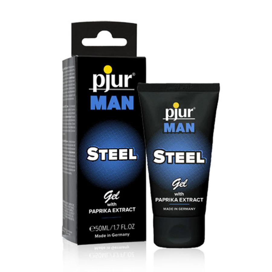 Pjur - Man Steel Gel 50 ml Accessoires