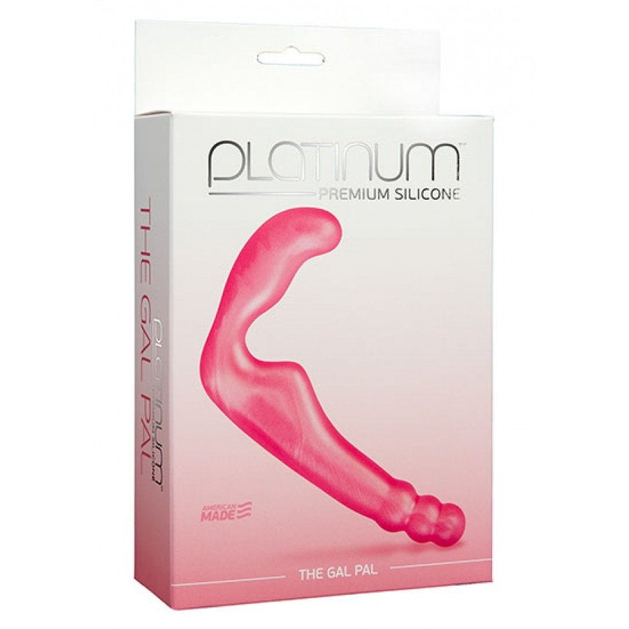 Doc Johnson - Platinum Premium The Gal Pal Strapless Strap-On Vrouwen Speeltjes