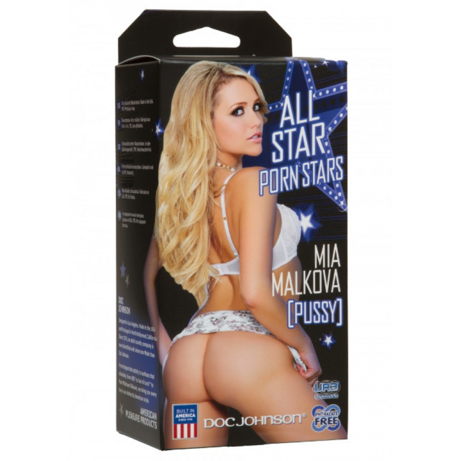 Doc Johnson - Porn Stars Mia Malkova Pussy Masturbator Mannen Speeltjes