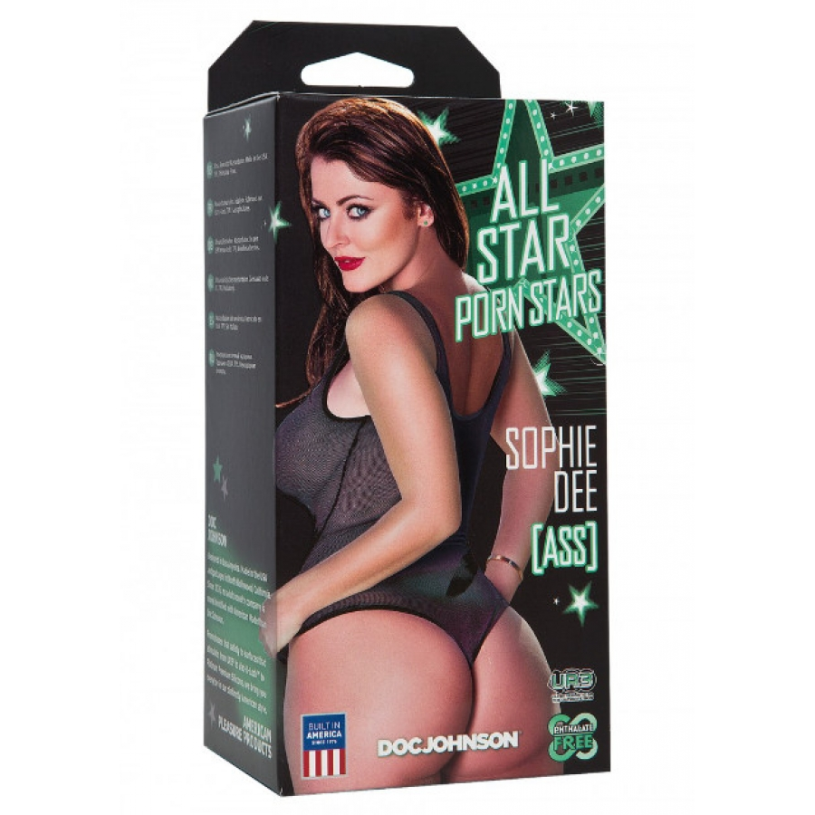 Doc Johnson - Porn Stars Sophie Dee Ass Masturbator Mannen Speeltjes