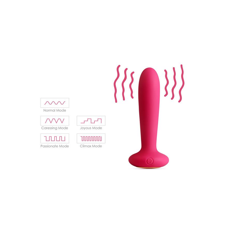 Svakom - Primo Verwarmende Vibrerende Buttplug Anale Speeltjes