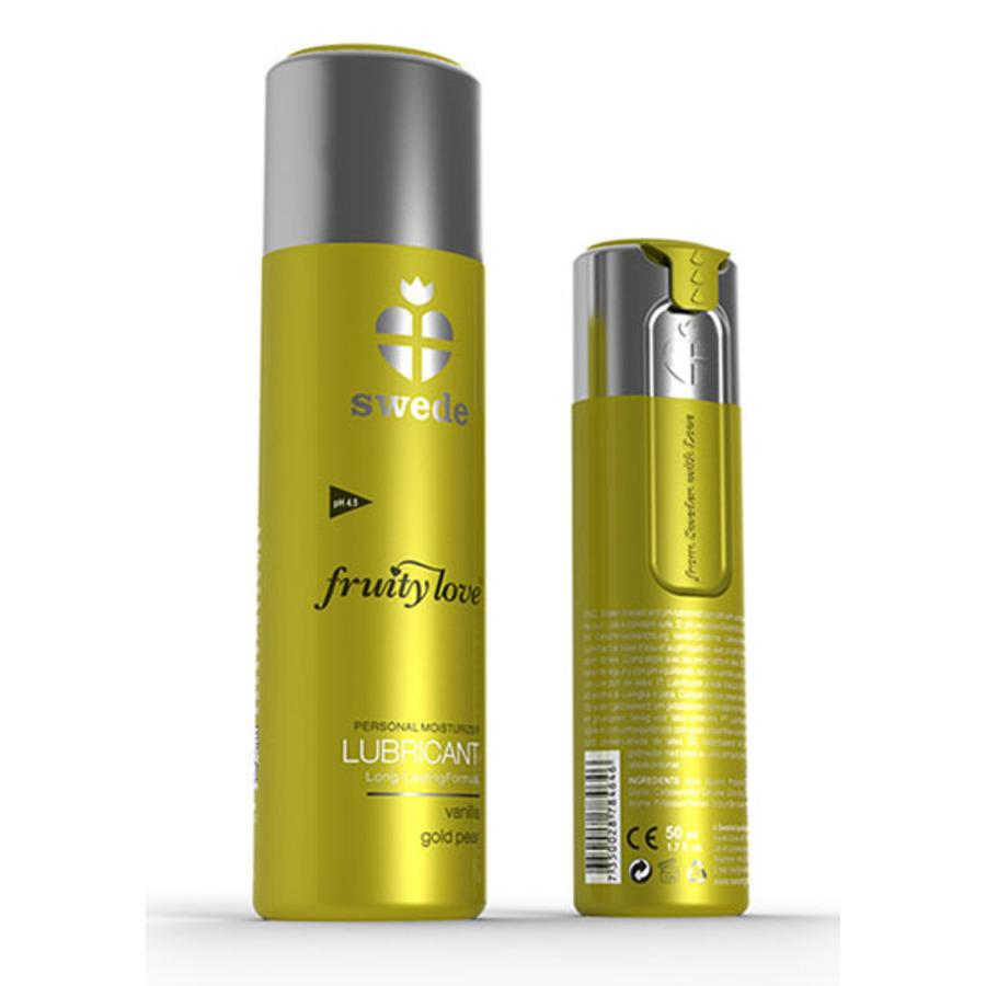 Swede - Fruity Love Glijmiddel Vanille Gouden Peer 100 ml Accessoires