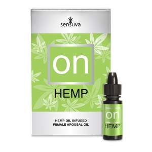 Sensuve - On For Hemp Oil Infused Arousal Oil 5 Ml Large Box Accessoires