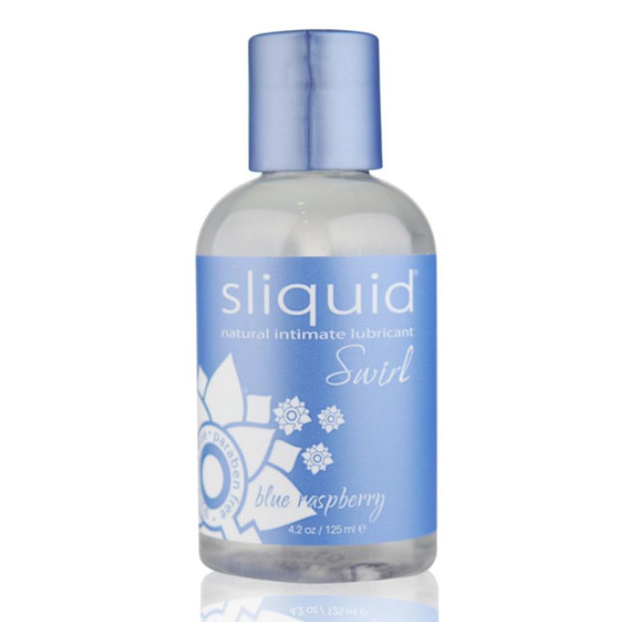 Sliquid - Naturals Swirl Glijmiddel Blauwe Framboos 125 ml Accessoires