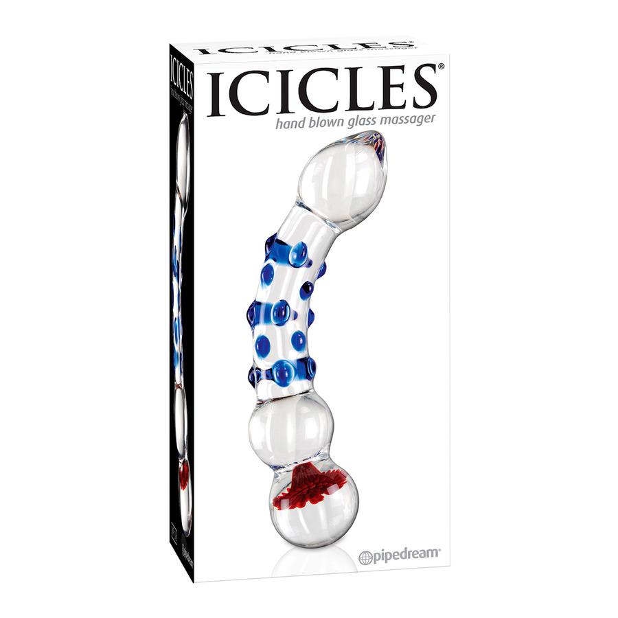Icicles - No. 18 Hand Geblazen Glazen Dildo Vrouwen Speeltjes