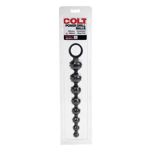 Colt - Power Drill Anale Beads Zwart Anale Speeltjes
