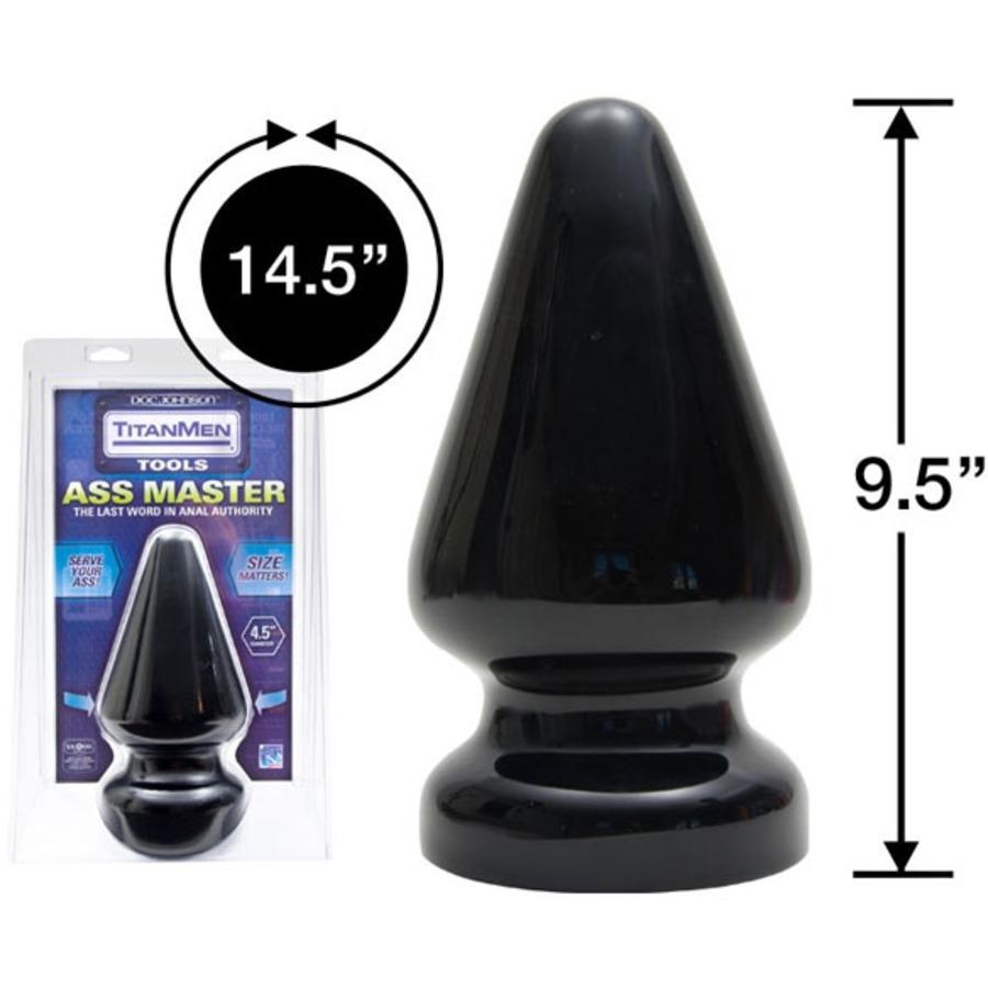 Titanmen - Butt plug Master Anale Speeltjes