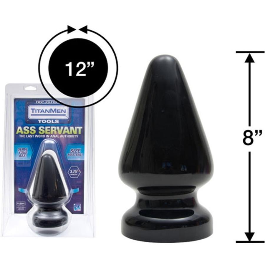 Titanmen - Butt Plug Servant Anale Speeltjes