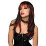 Courtney Pruik - Zwart / Rood