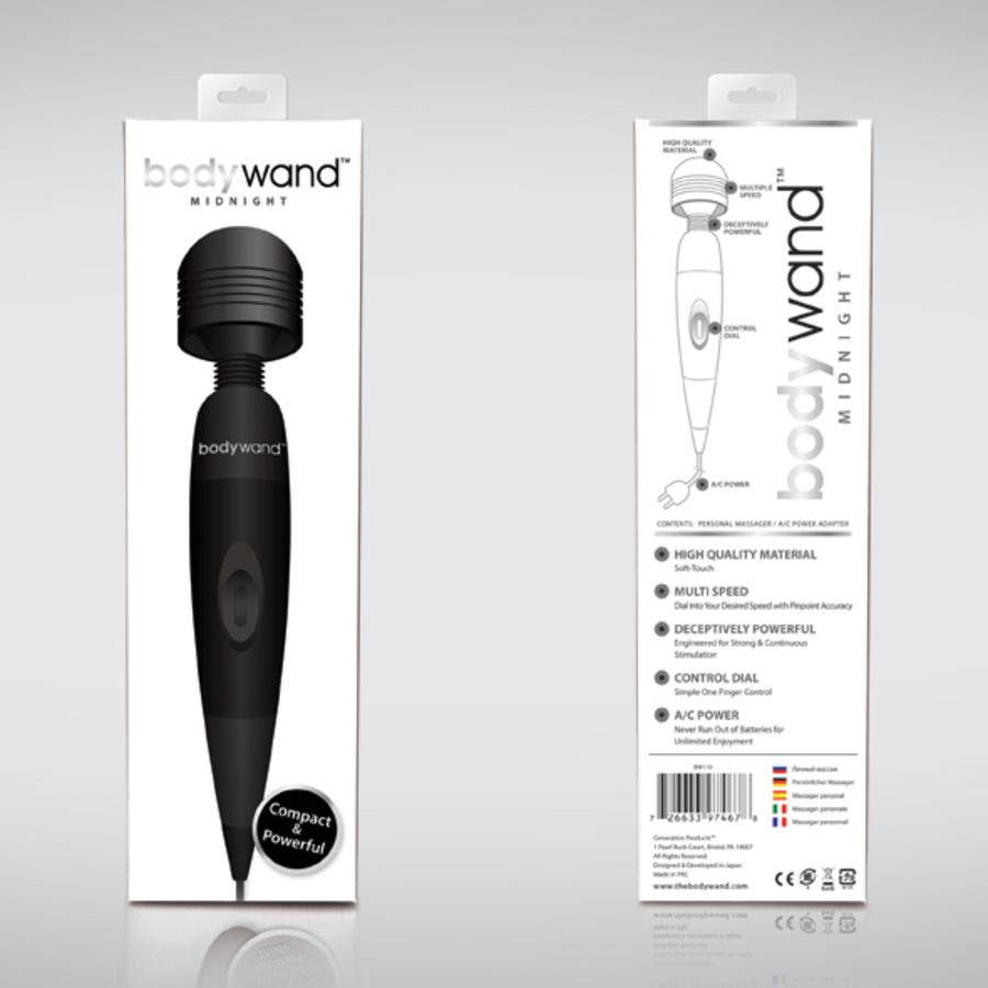 Bodywand - Midnight Plug-In Massager Zwart Vrouwen Speeltjes