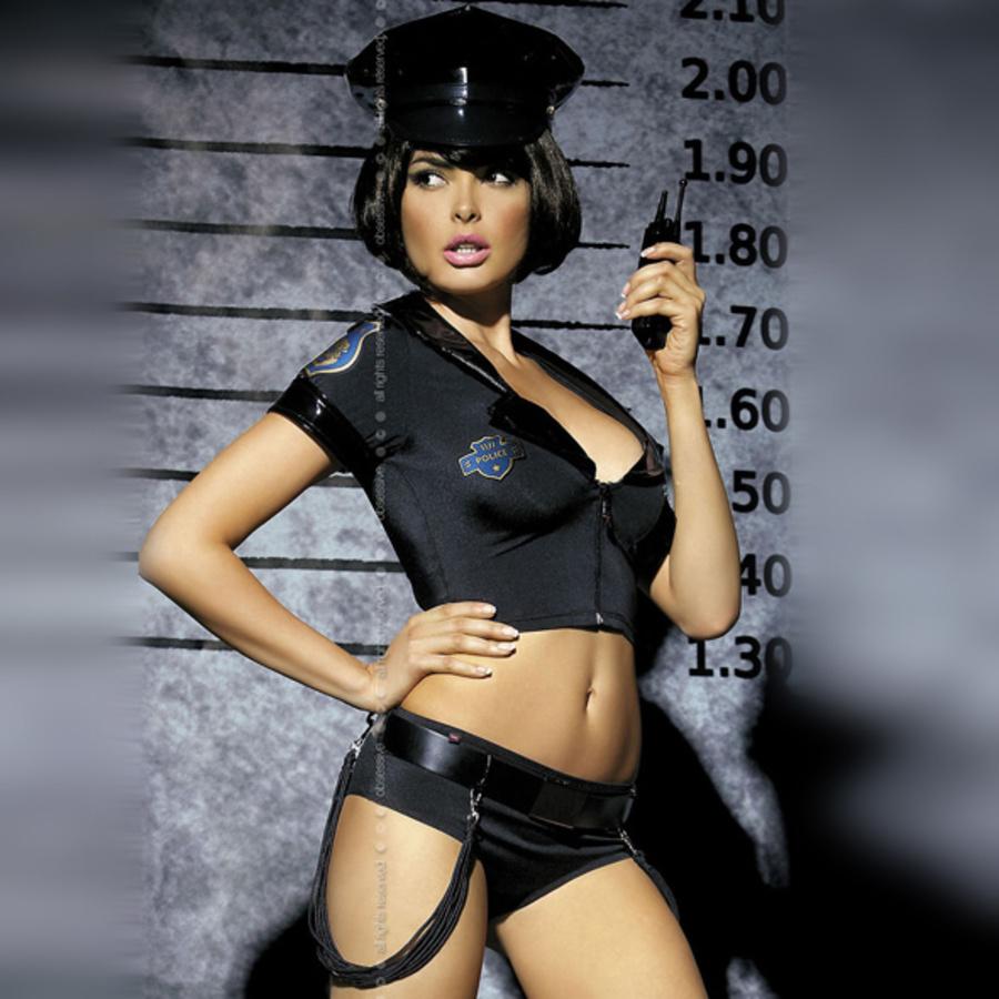 Obsessive - Politie Kostuum Lingerie