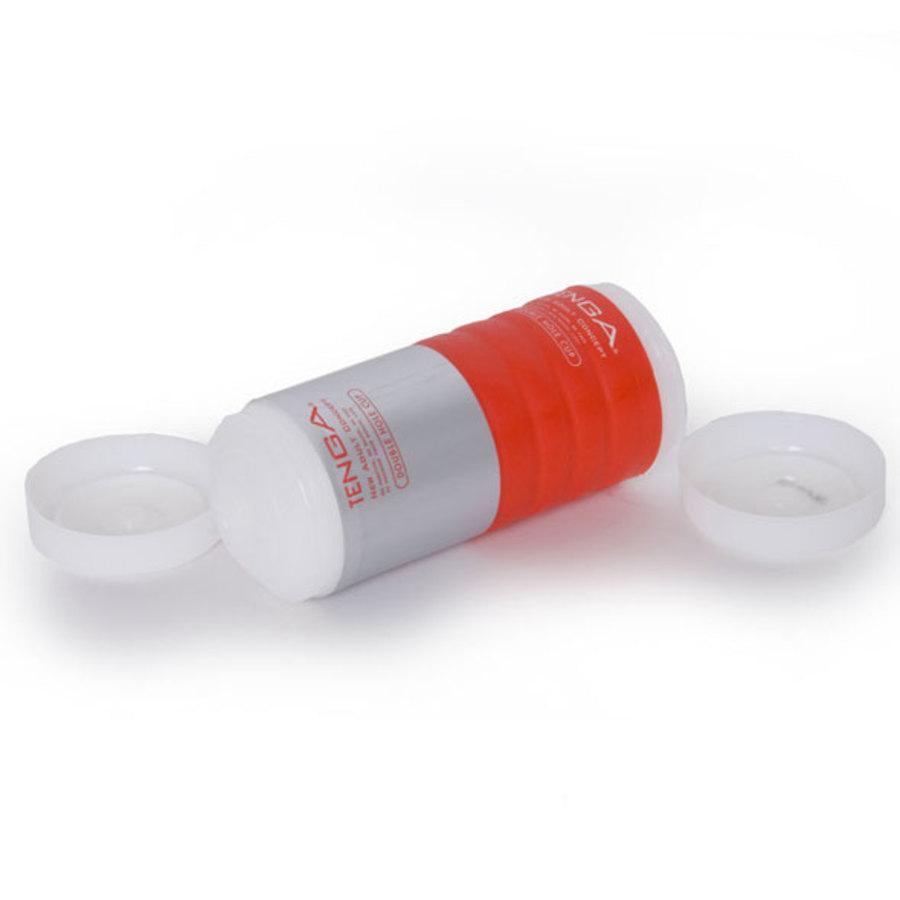 Tenga - Double Hole Cup Masturbator Mannen Speeltjes