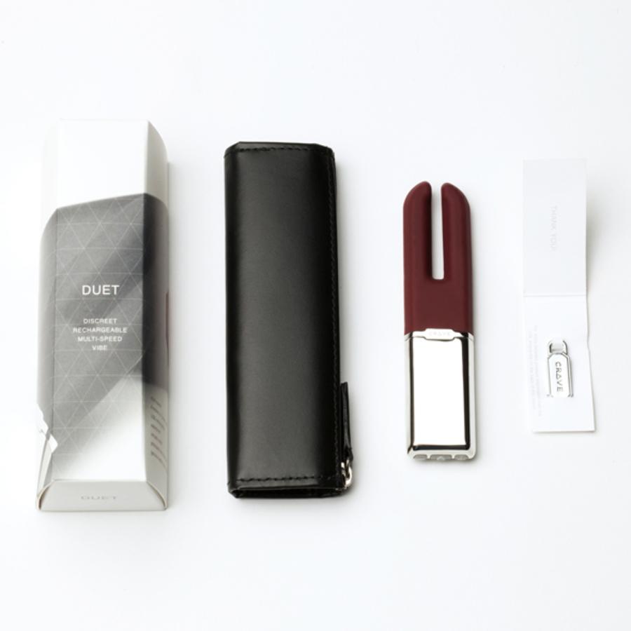 Crave - Duet USB Clitoris Vibrator Vrouwen Speeltjes
