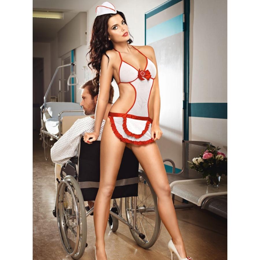 Baci - Candy Verpleegster Set Lingerie