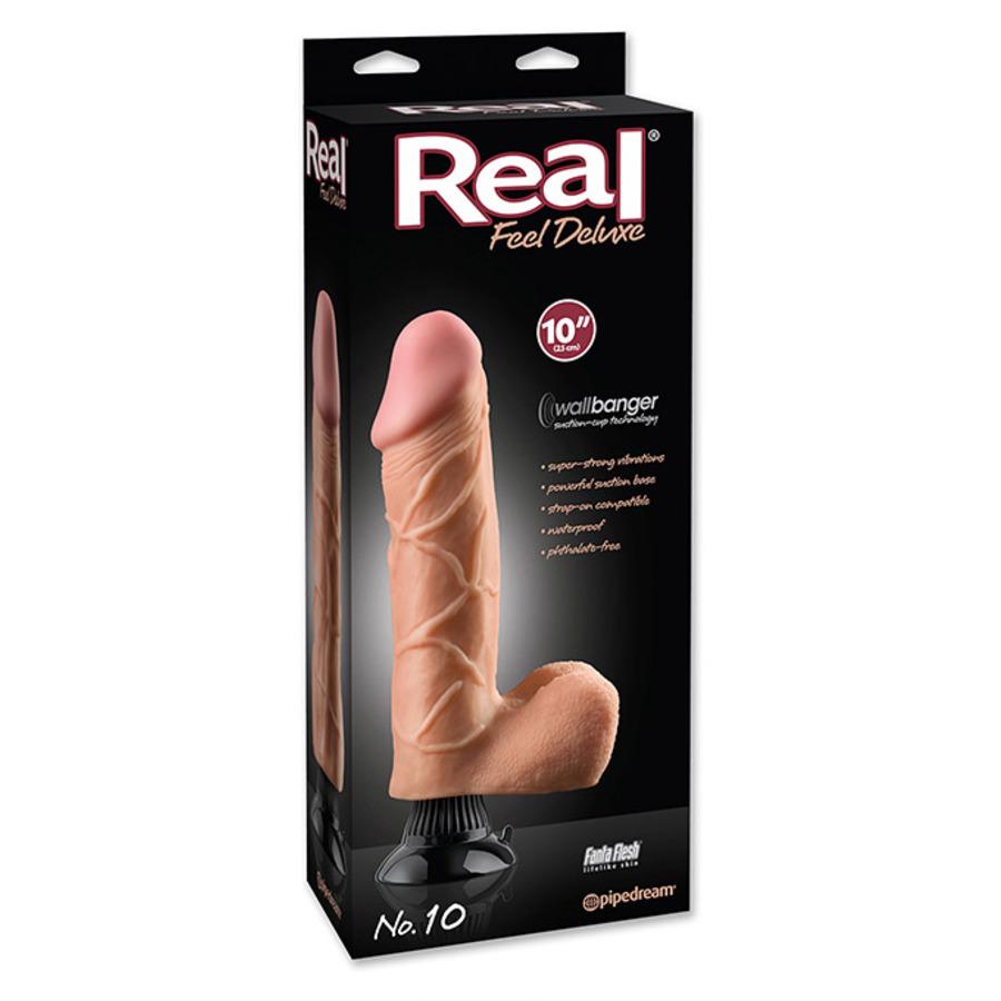 Real Feel Deluxe - 10 Dildo Met Zuignap 22cm Vrouwen Speeltjes