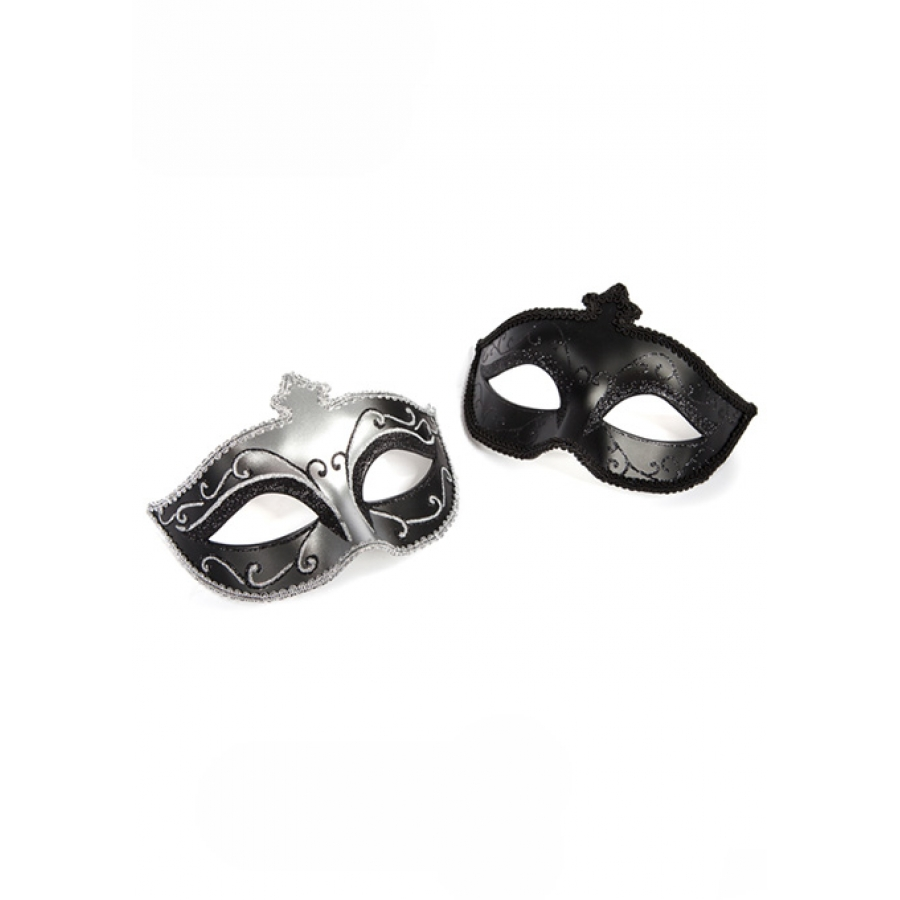 Fifty Shades Of Grey - Masquerade Mask Twin Pack SM