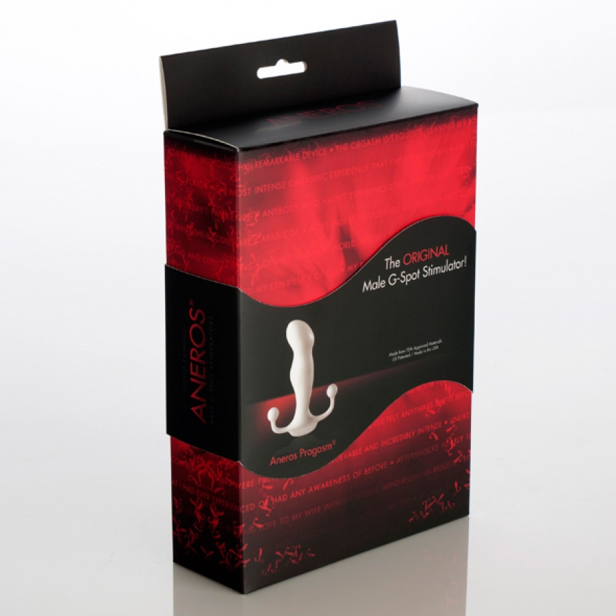 Aneros - Progasm Classic White Prostaat Massager Anale Speeltjes
