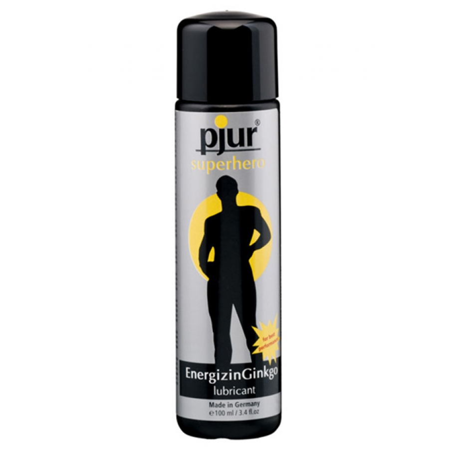 Pjur - Superhero EnergizingGinkgo Glijmiddel 100 ml Accessoires