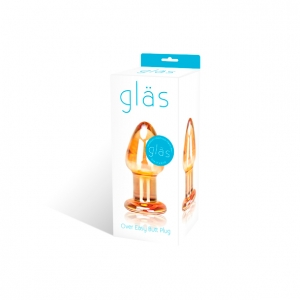 Gläs - Over Easy Glazen Butt Plug Vrouwen Speeltjes