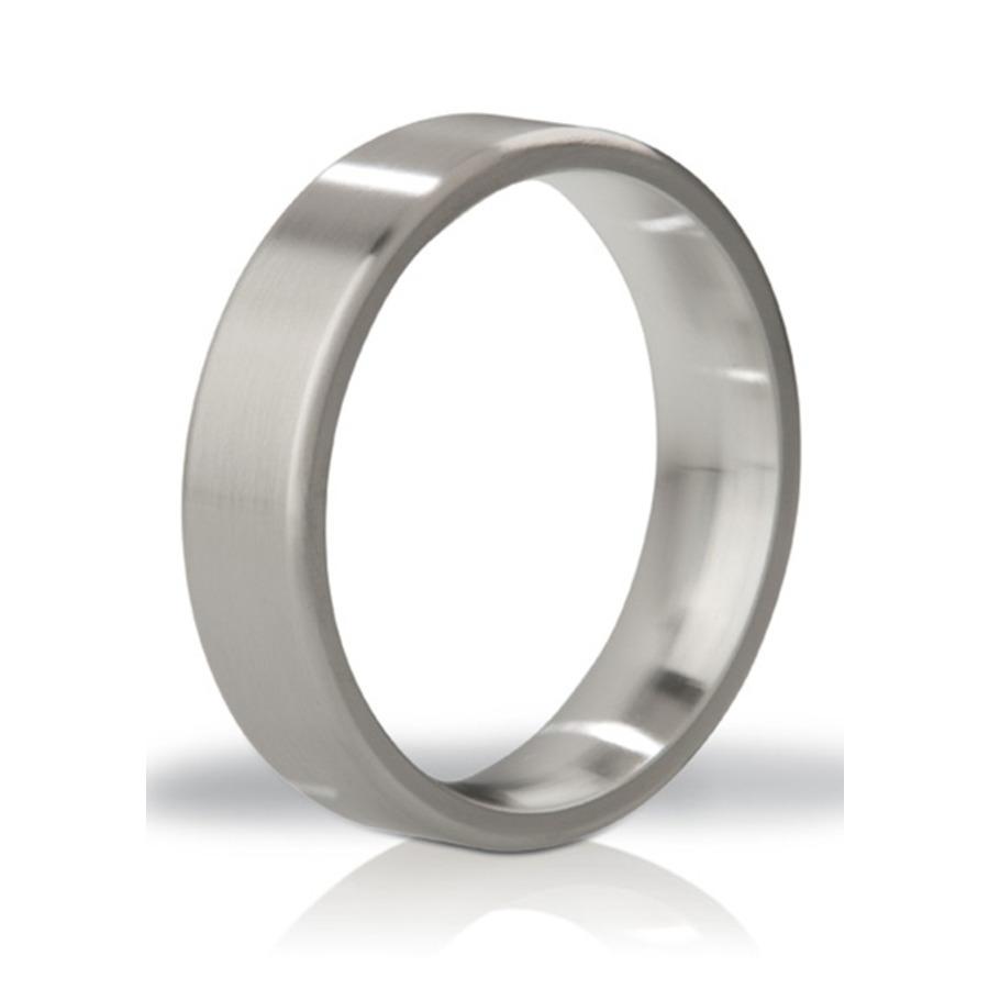 Mystim - His Ringness Duke Brushed Metal Ring Mannen Speeltjes