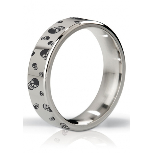 Mystim - His Ringness Duke Polished & Engraved Metal Ring