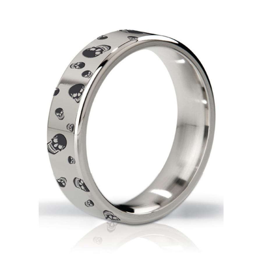 Mystim - His Ringness Duke Polished & Engraved Metal Ring Mannen Speeltjes