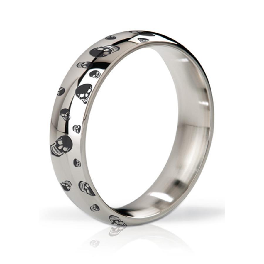Mystim - His Ringness Earl Polished & Engraved Metal Ring Mannen Speeltjes