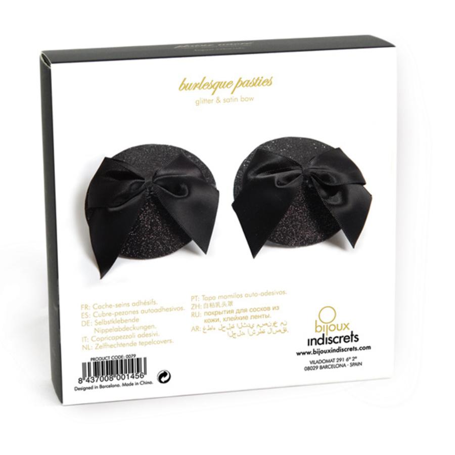 Bijoux Indiscrets - Burlesque Pasties Strik Tepel Stickers Lingerie