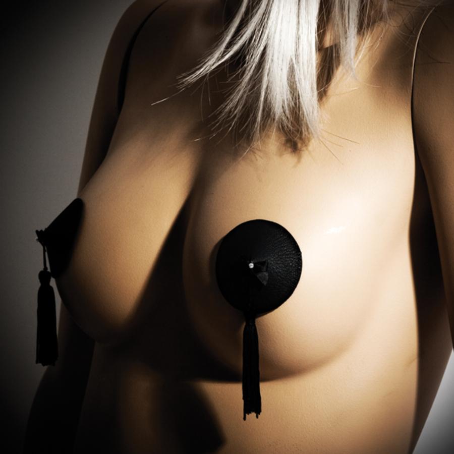 Bijoux Indiscrets - Burlesque Pasties Zwart Tepel Stickers SM