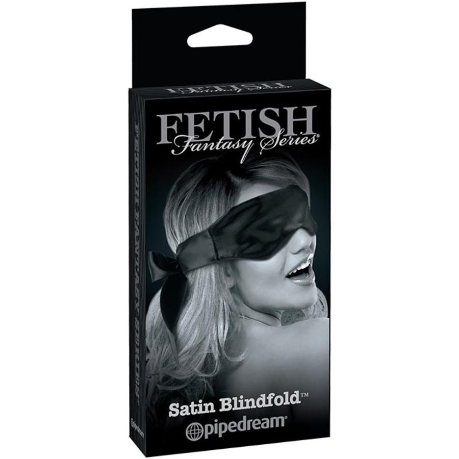 FF Grey - Satijnen Blinddoek Zwart SM