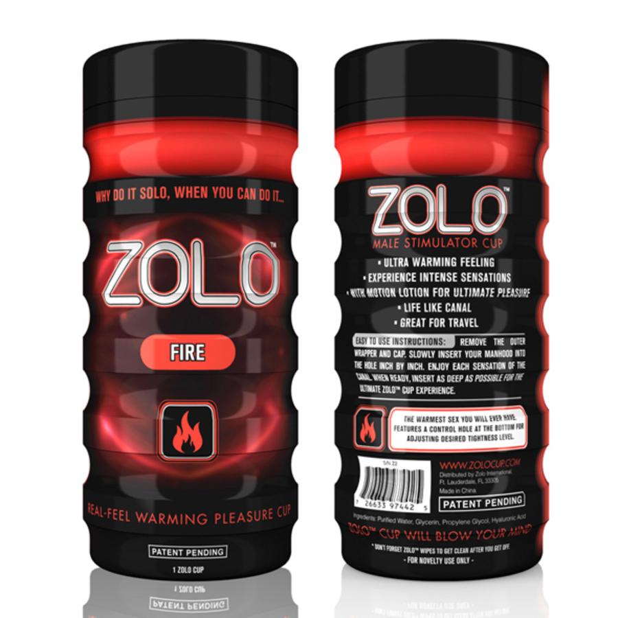 Zolo - Fire Cup Masturbator Mannen Speeltjes
