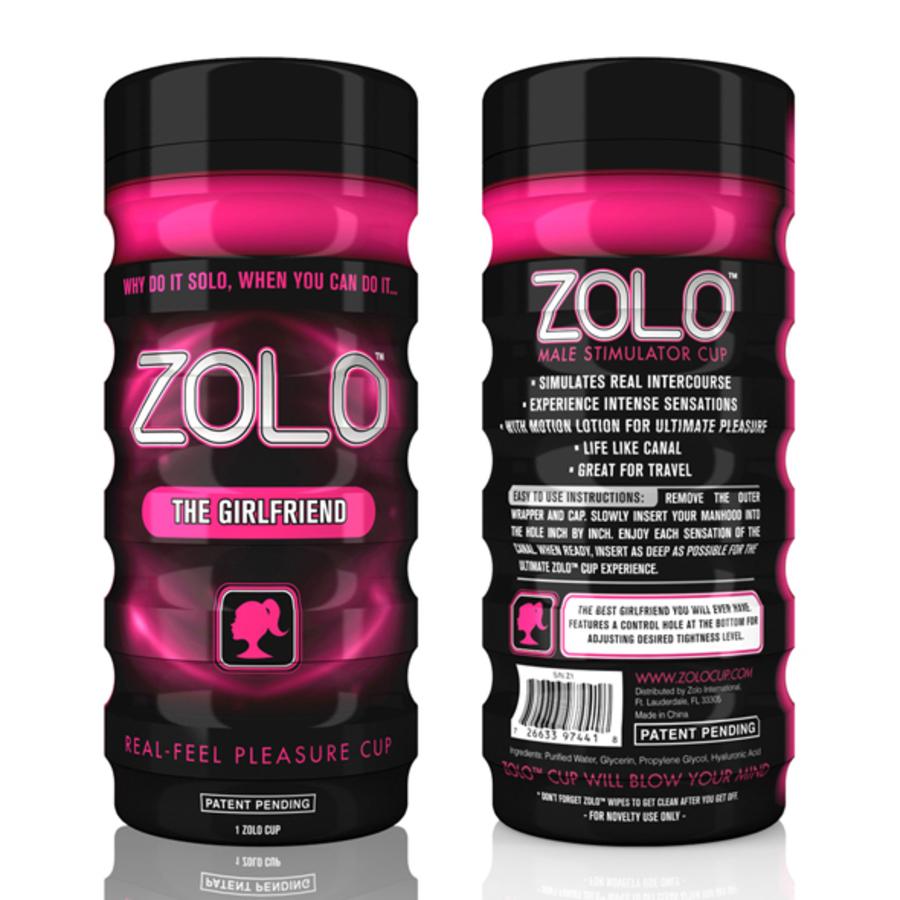 Zolo - The Girlfriend Cup Masturbator Mannen Speeltjes