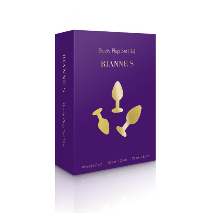 Rianne S - Booty Plug Set Anale Speeltjes