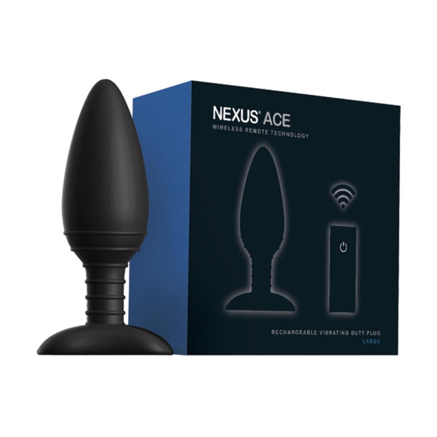 Nexus - Ace Remote Control Vibrerende Butt Plug L Anale Speeltjes