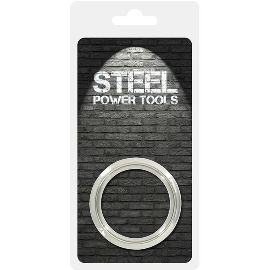 Steel Power - RVS Metalen Cockring 5 cm Mannen Speeltjes