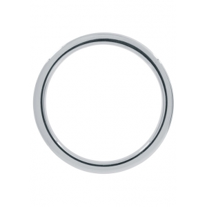 Steel Power - RVS Metalen Geribbelde Cockring 4cm Mannen Speeltjes