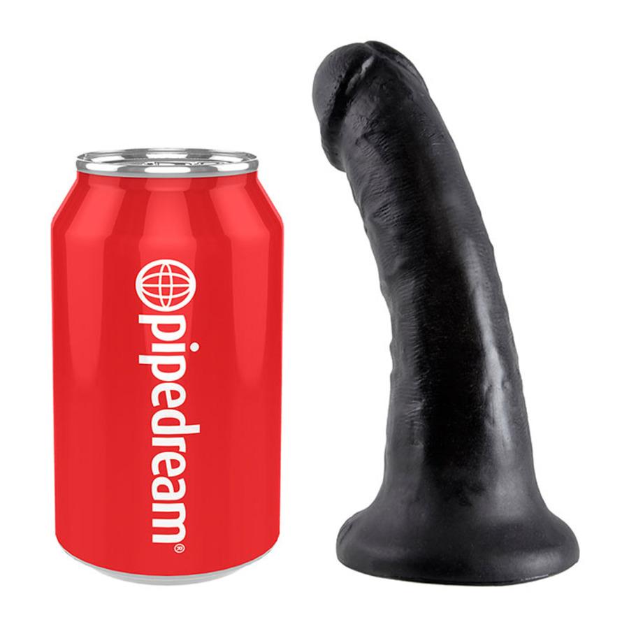 Pipedream - King Cock Dildo Met Zuignap 15cm Zwart Vrouwen Speeltjes