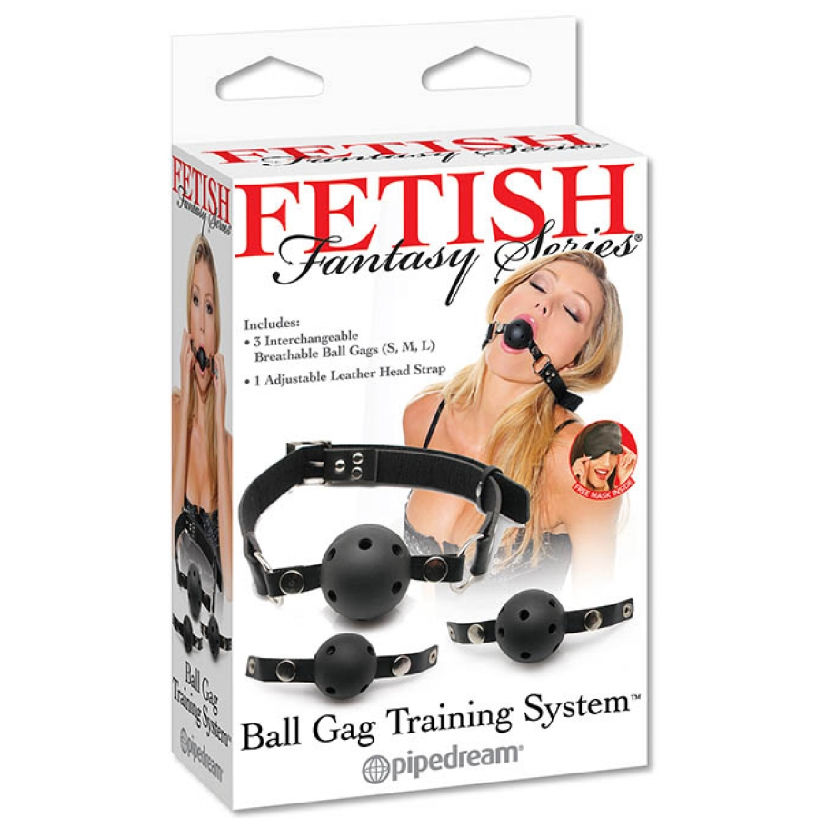 Fetish Fantasy - Ball Gag Training Systeem SM