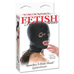 Fetish Fantasy - Spandex 3 Gaten Masker SM