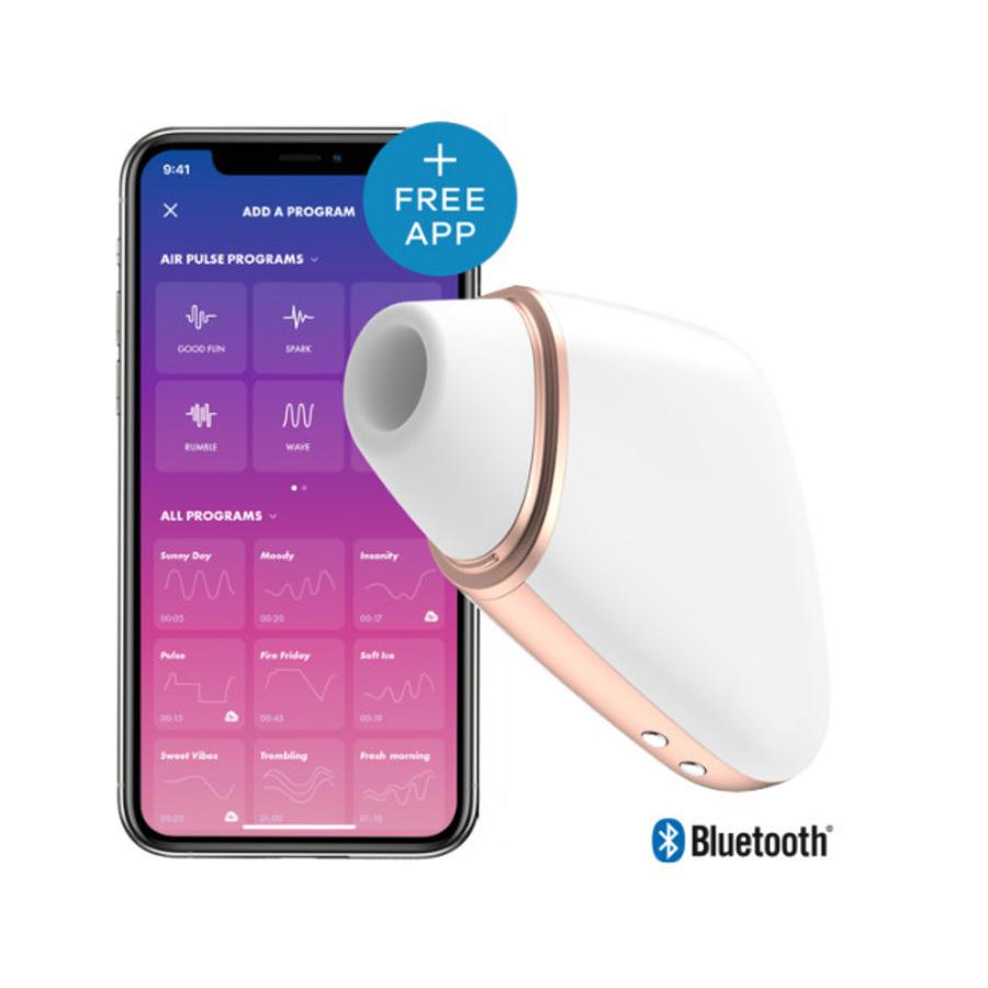 Satisfyer - Love Triangle Bluetooth Luchtdruk Stimulator Vrouwen Speeltjes