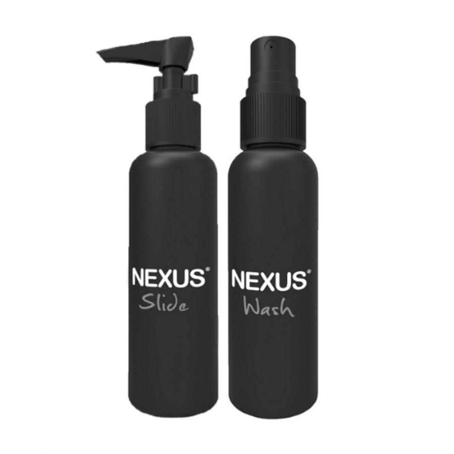 Nexus - Slide & Wash Glijmiddel en Cleaner 150ml Accessoires